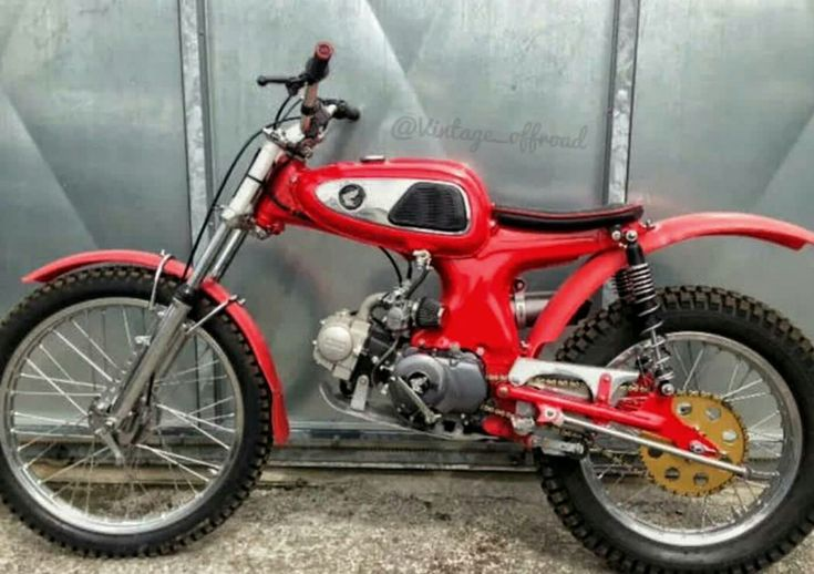 S90 converted into a trials Bike