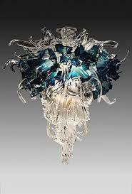 barry entner sculpture aqua chandelier - Google-Suche