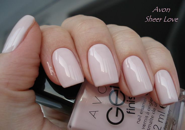 avon gel finish sheer love