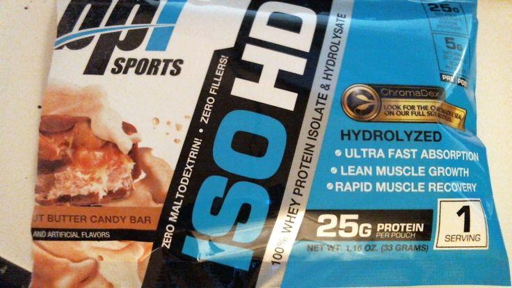 BPI Sports ISO-HD Hydrolyzed whey protein powder supplement