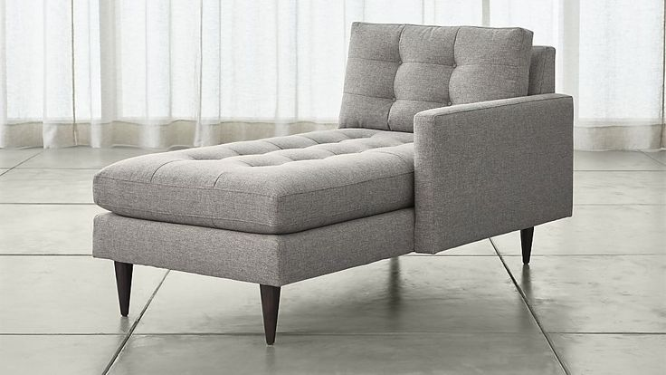 Petrie Right Arm Chaise Lounge | Crate and Barrel