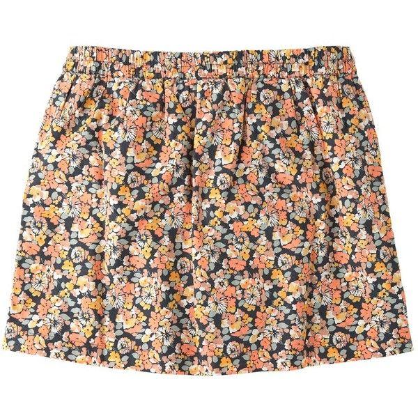 Jack Wills Ivywell Skirt (2.920 RUB) ❤ liked on Polyvore featuring skirts, mini skirts, bottoms, saias, shorts, pastel flr, jack wills, short skirts, mini skirt and print skirt