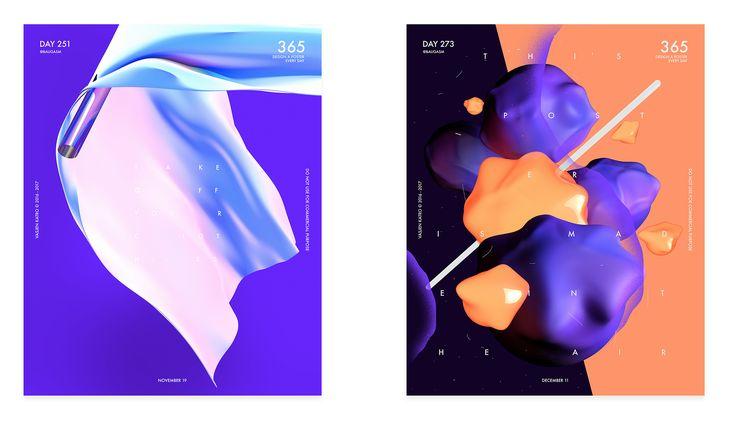 2017 Design Trends Guide on Behance