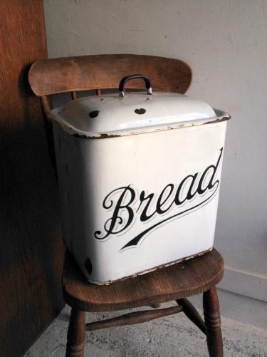 イギリスアンティーク ホーローブレッド缶/ブレッドビン(bin) ホームプライド社 C8