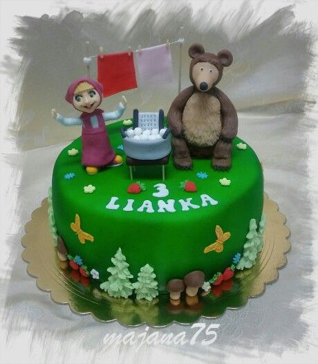 Cake masha and bear