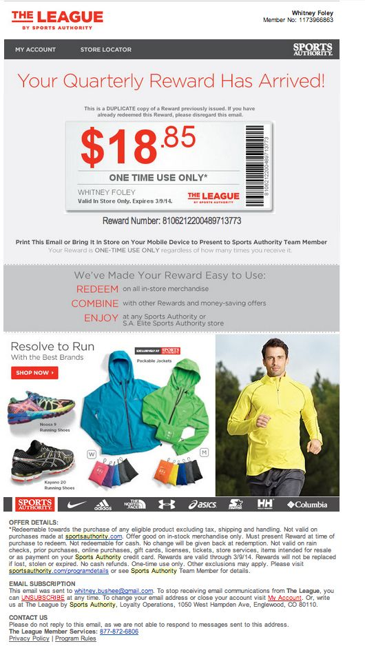 23 best Email Design Coupon Offers images on Pinterest Email - example of a coupon