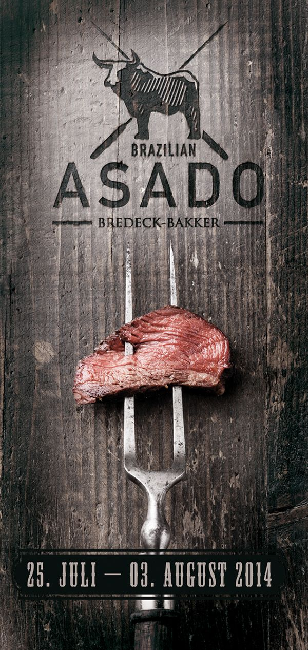 Brazilian Portuguese: [assado]) means roast or roasted. An asado usually consists of beef alongside various other meats, which are cooked on a grill, called a parrilla, or an open fire. Ones a year Bredeck Bakker makes a great Asado event. As long the tur…