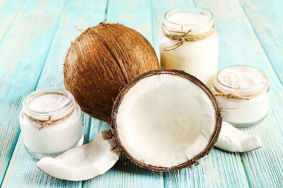 Kokosöl Haarmaske zur Pflege der Kopfhaut