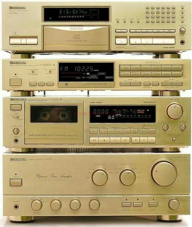 Pioneer Vintage Audio HiFi Stereo (fb)