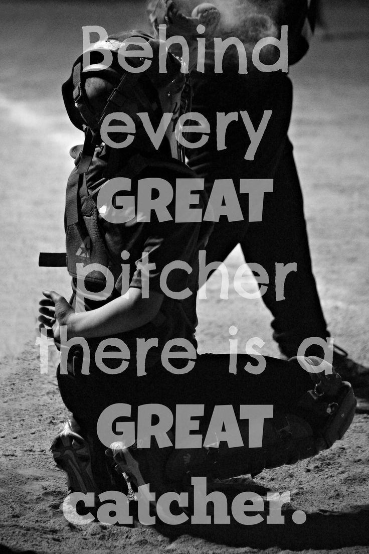 Softball friendship quotes quotesgram -  Brynnsurmont You Are My Great Catcher I Love You So Much Softball Quotessoftball