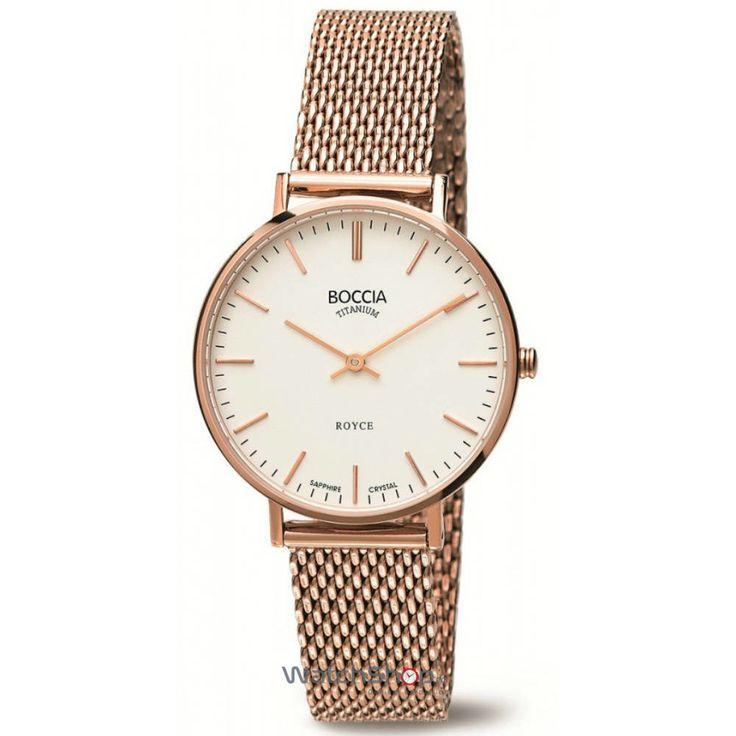 Часы Boccia Titanium 3080-07 Часы Восток 420432
