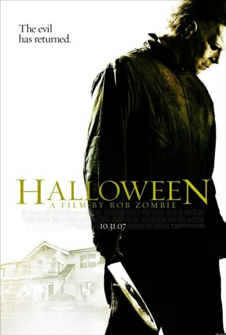 halloween movie poster us rob zombie - Halloween Movie By Rob Zombie