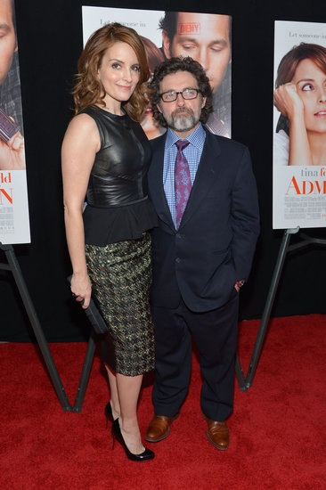 Tina Fey walked the red carpet of her NYC Admission premiere with husband Jeff Richmond.