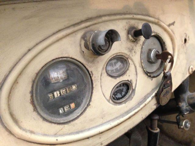 1927 Chrysler Model 60 Right Hand Drive Phaeton!! Jalopy Rat Original Runner for sale: photos, technical specifications, description