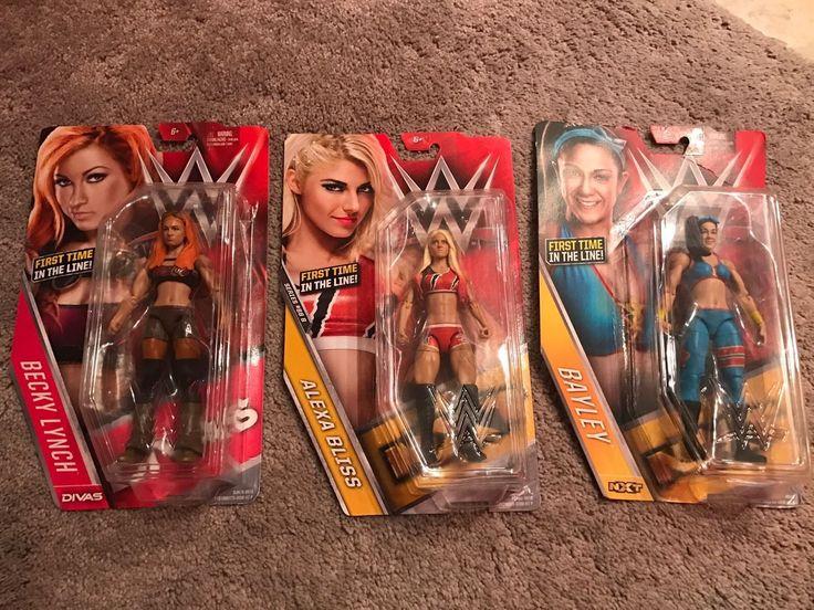 Wwe Mattel Basic Women Superstar Figures Alexa Bliss Becky Lynch Bayley NXT Diva - http://bestsellerlist.co.uk/wwe-mattel-basic-women-superstar-figures-alexa-bliss-becky-lynch-bayley-nxt-diva/