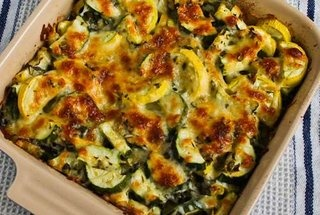 Easy Cheesy Zucchini Bake — Recipe from Kalyn's Kitchen