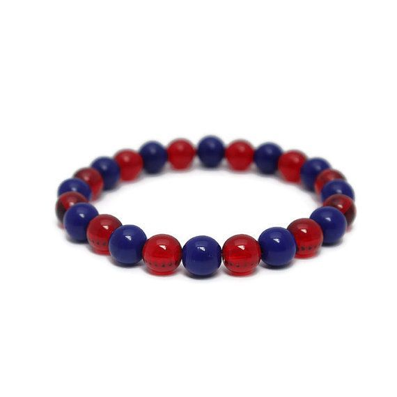 Baseball bracelets in your favorite team colors, for game day and every day. Get yours today!