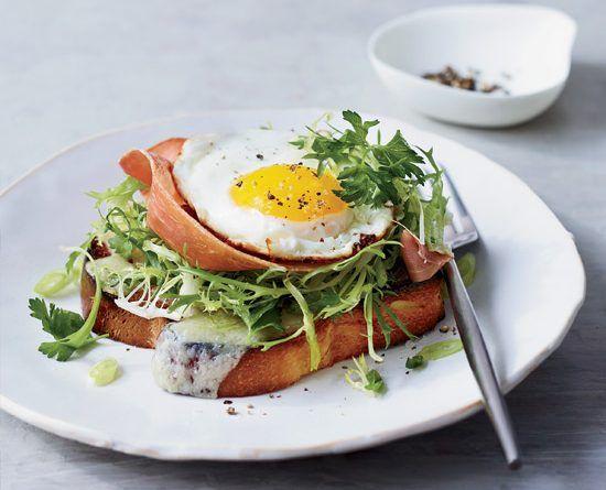 Brioche with Prosciutto, Gruyère and Egg – The Great British Food Festival