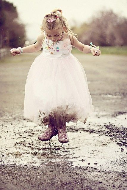 """go ahead, wear your good jewelry for everyday...splash in all the puddles, even if you'll get muddy...don't save anything for a """"special occasion""""; this moment is special...and tell the ones you love that you love them; don't wait. <3"""