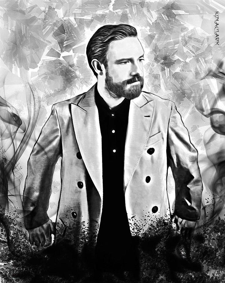 dibujo hecho a mano y luego digitilizado en photoshop , Martin freeman