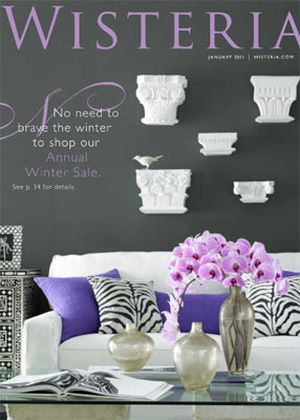35 Home Decor Catalogs You Can Get for Free by Mail: Wisteria Home Decor Catalog