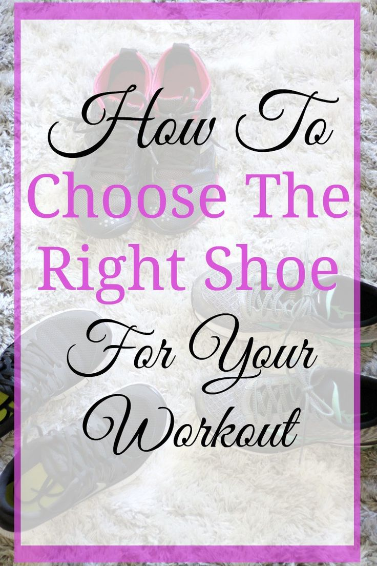 Choosing the right shoes for your workout is more than just grabbing a random pair of sneakers from the athletic store.