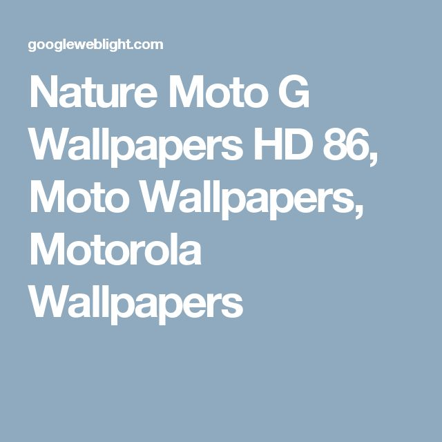 Nature Moto G Wallpapers HD 86, Moto Wallpapers, Motorola Wallpapers