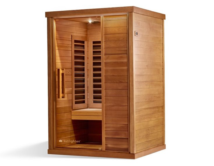Signature Series 2 - Two person far-infrared home sauna » Sunlighten #infraredsauna #homesauna #infrared #Sunlighten #homedesign #design #home #sauna