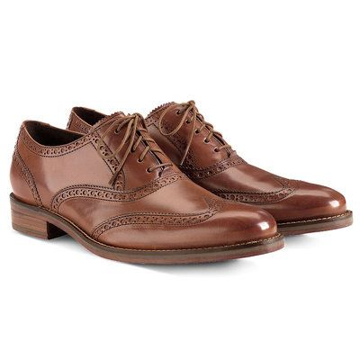 The Air Madison wing tip oxford by Cole Haan is a great dress shoe for the