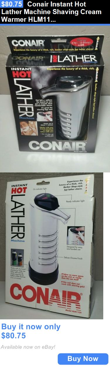 Other Shaving and Hair Removal: Conair Instant Hot Lather Machine Shaving Cream Warmer Hlm11ch New Chrome Color BUY IT NOW ONLY: $80.75