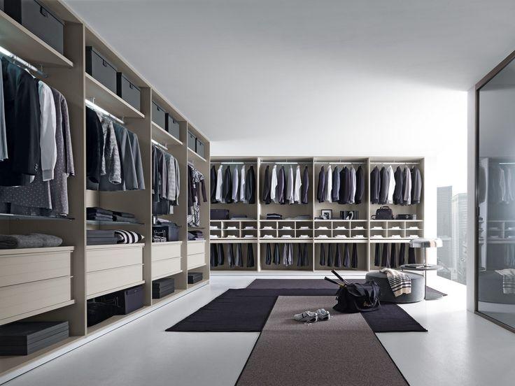 Contemporary style walk-in wardrobe VARIUS by Presotto Industrie Mobili   design Tormena-neadesign