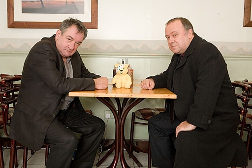 Two of my favourites - Ken Stott - Inspector Rebus and Alex Norton DCI Burke.....miss them both