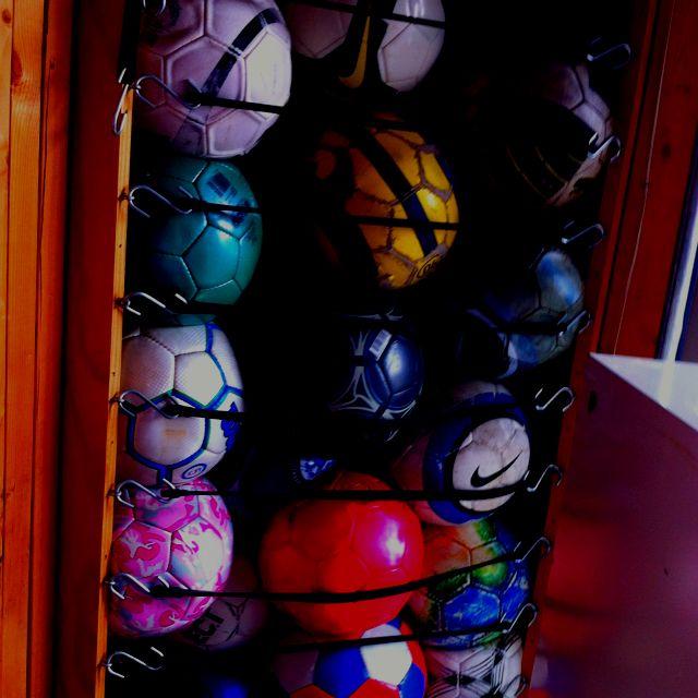 Ball Organizer Garage: 16 Best Images About Equipment Storage On Pinterest