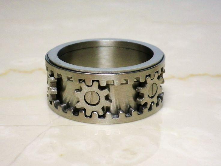 kinekt gear ring 基 kinekt design gear ring 指輪 男のヴィトン 男
