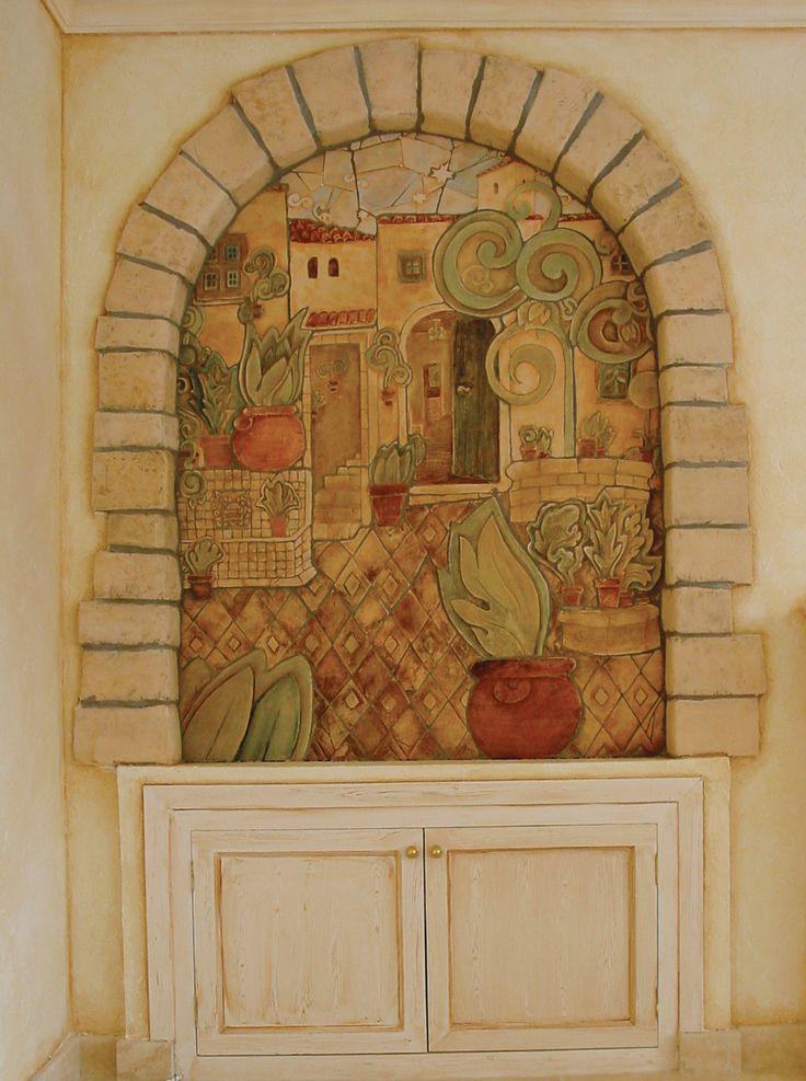 14 best unique storage building project images on for Ceramic mural art