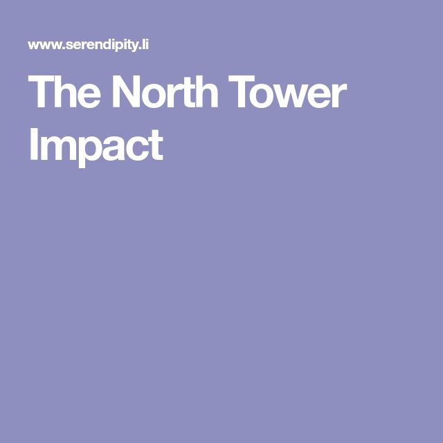 The North Tower Impact