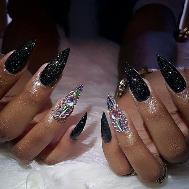 203 best claws images on pinterest claws posts and acrylic nail classy nails claws nail designs nail envy nail nail beauty nails fashion bling beautiful prinsesfo Images