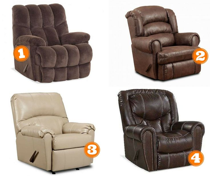 simmons cuddle up recliner. which recliner would you like to curl up in this weekend? 1. homestretch big simmons cuddle