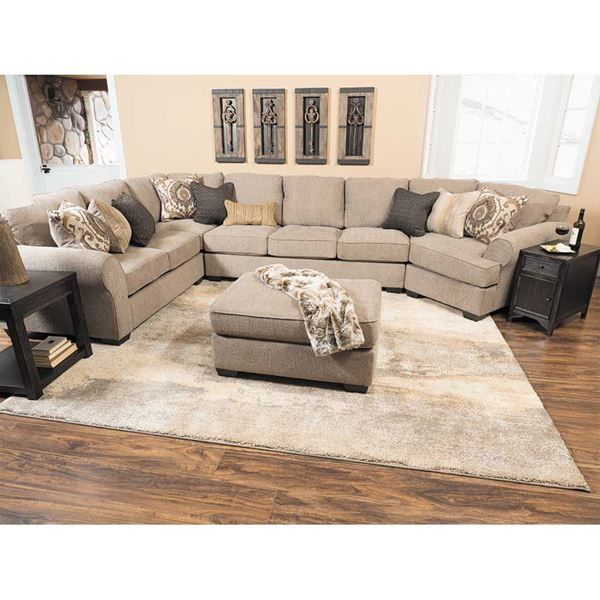 The Pantomine with RAF Chaise Sectional by Ashley Furniture is modern styling u0026 comfort at a great price.  sc 1 st  Pinterest : ashley furniture sectional with chaise - Sectionals, Sofas & Couches