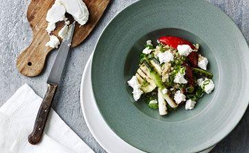 Salat med boghvede og grillet grønt | Femina