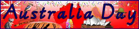 Australia Day display banners (SB3614) - SparkleBox