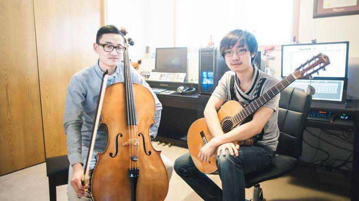 """Studio Ghibli"" Medley (Cello & Classical Guitar) - Nicholas Yee & Shawn..."