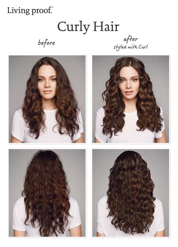 Living Proof Curl delivers defined, frizz-free natural curls that last 2x longer. Here's the proof!