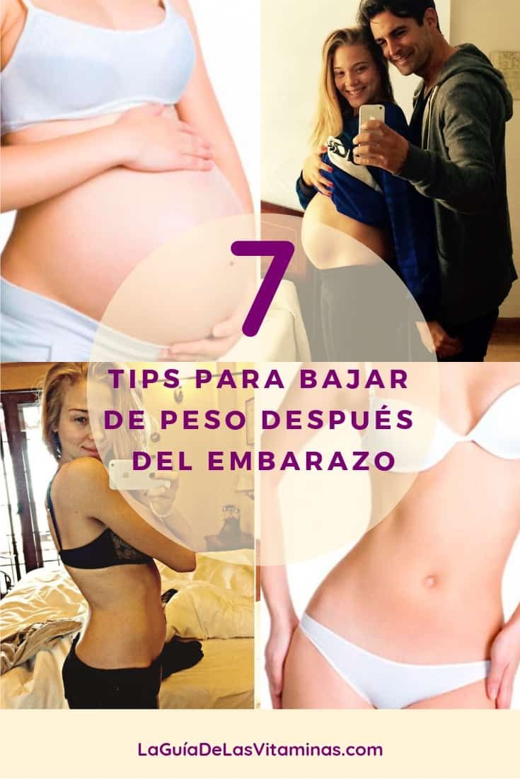 Perder peso durante el embarazo