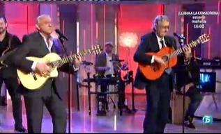 Los hermanos José y Delfín presentan su nuevo trabajo en 'QTTF  http://www.telecinco.es/quetiempotanfeliz/actuaciones/regreso-Amaya_2_1569255050.html