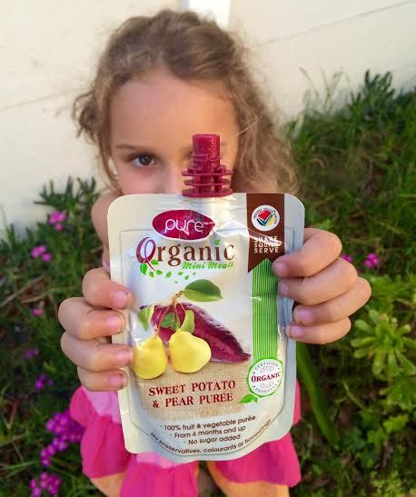 {Product Review} New! Pure' Organic Mini Meals