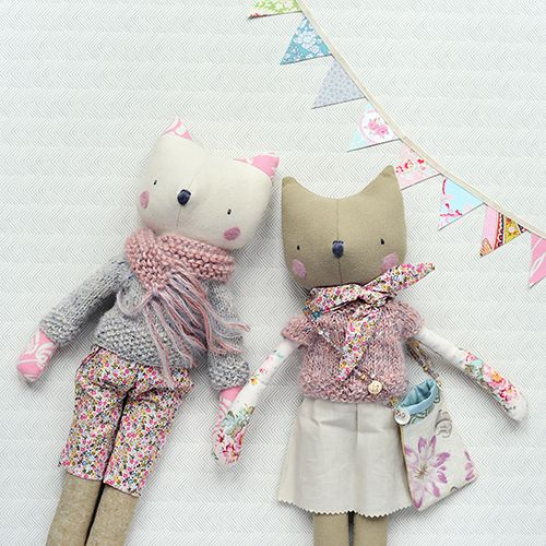 Hafferty dolls, designed and handmade by Sarah Gardner