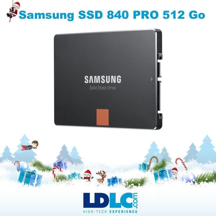 Grand jeu de Noël LDLC ! Vous avez voté pour : Samsung SSD 840 PRO 512 Go : http://www.ldlc.com/fiche/PB00136634.html  Vous aimeriez gagner ce produit ? RDV le 27/11 pour vous inscrire à notre grand jeu de Noël !