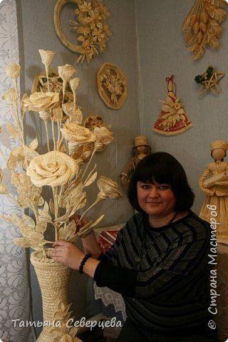 Фоторепортаж Плетение Персональная выставка Соломка фото 1