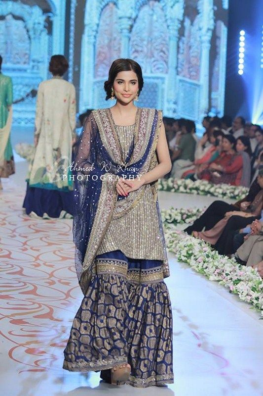 Nida Azwer Collection At Pantene Bridal Couture Week 2014
